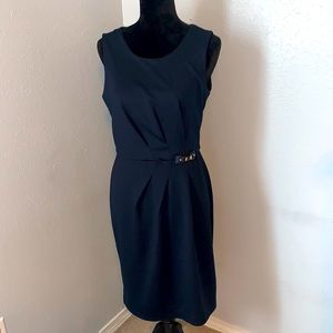 Banana Republic Black Tailored Dress Sz 8 NWT